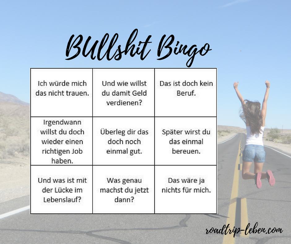 Bullshit Bingo: unnützes Feedback wenn du anfängst dein Ding zu machen