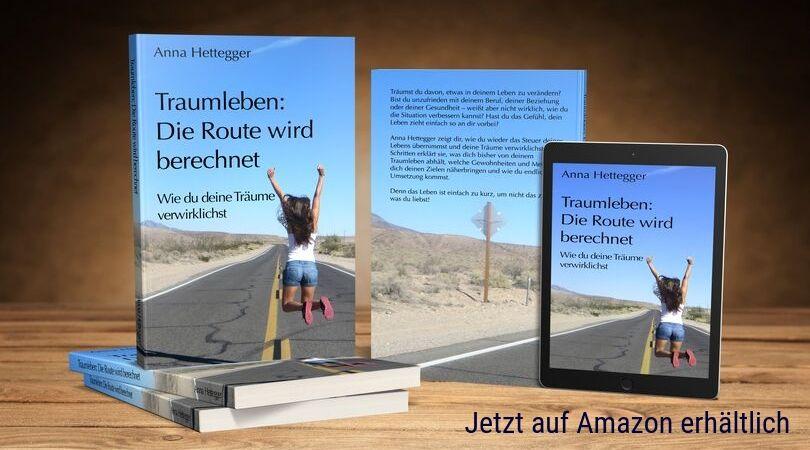 Mein Buch Traumleben: Die Route wird berechnet