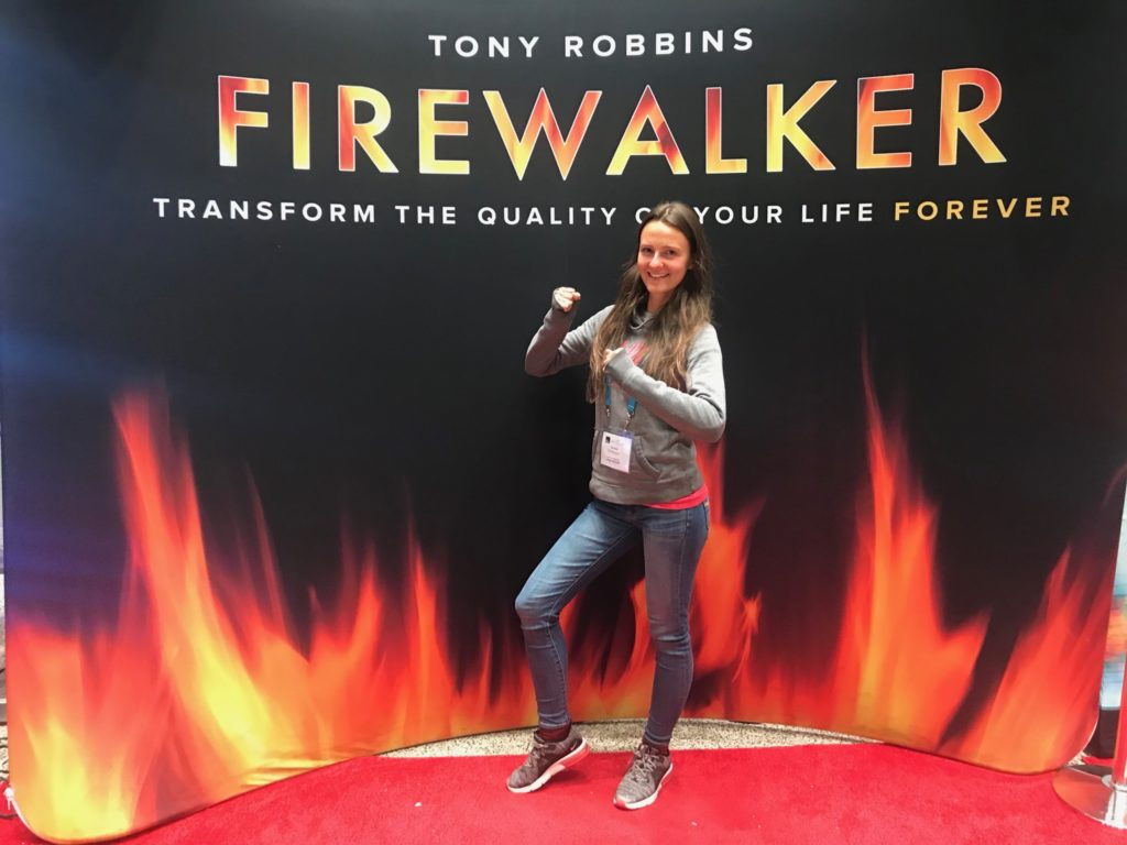 Tony Robbins Unleash The Power within Firewalk