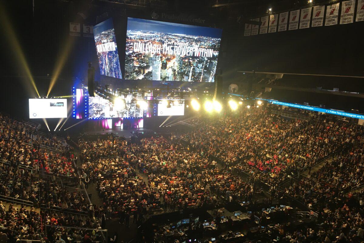 Tony Robbins Seminar Unleash the Power within