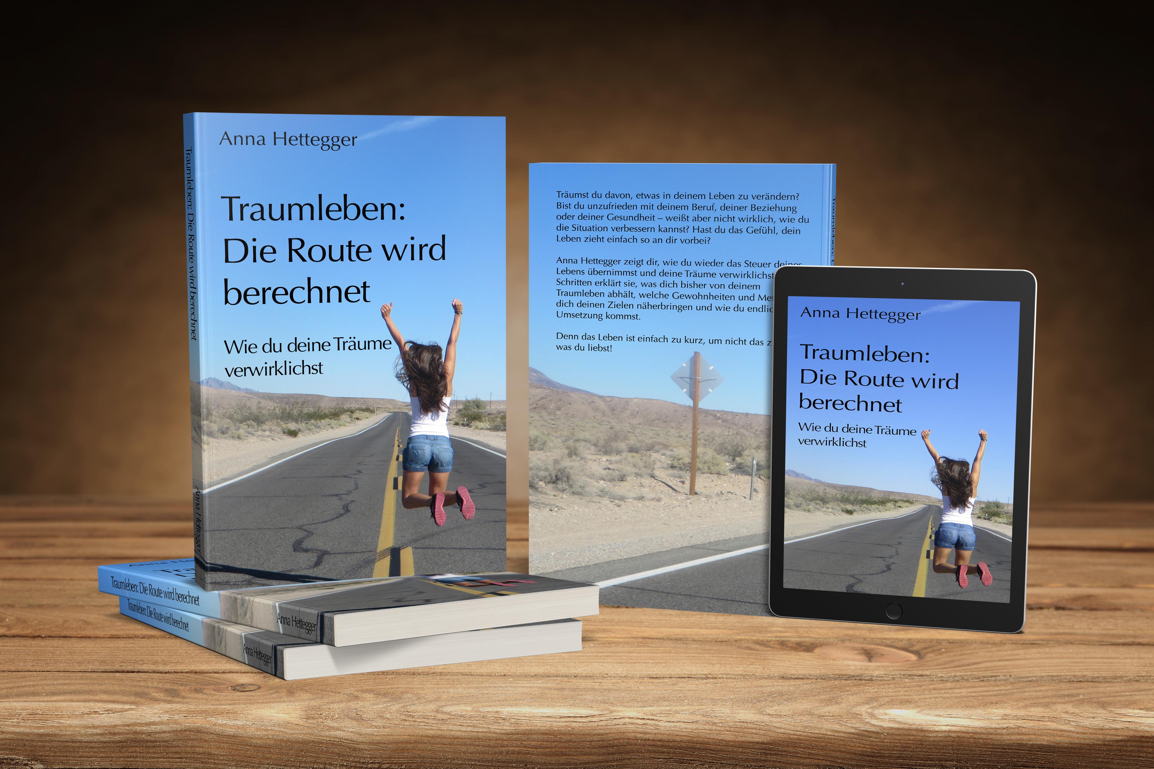 """Es ist so weit: Mein Buch """"Traumleben: Die Route wird berechnet"""" ist erschienen! Hier kannst du einen Blick ins Buch werfen oder es direkt kaufen."""