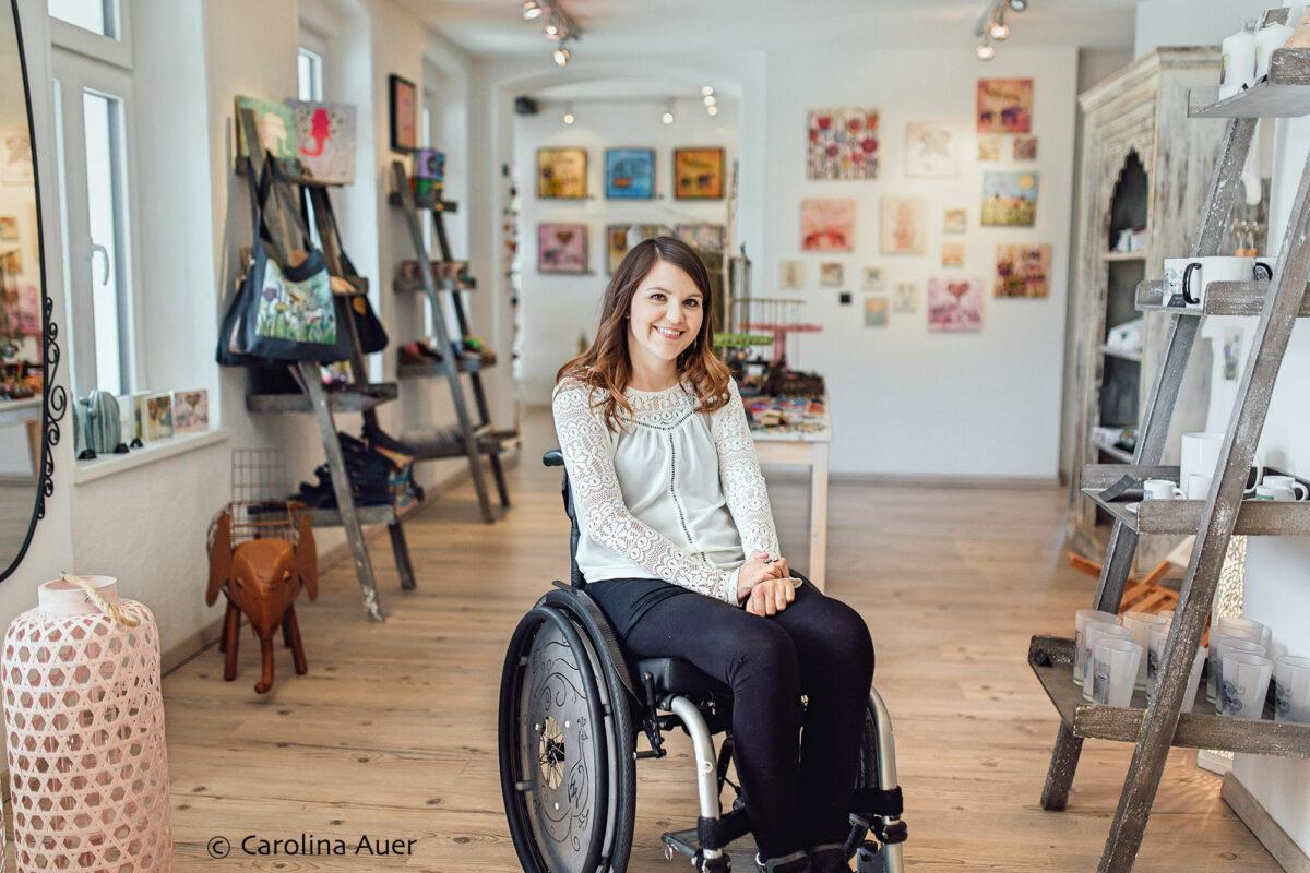 Neubeginn nach einem schweren Unfall – Interview mit Tina von Rollin'Art