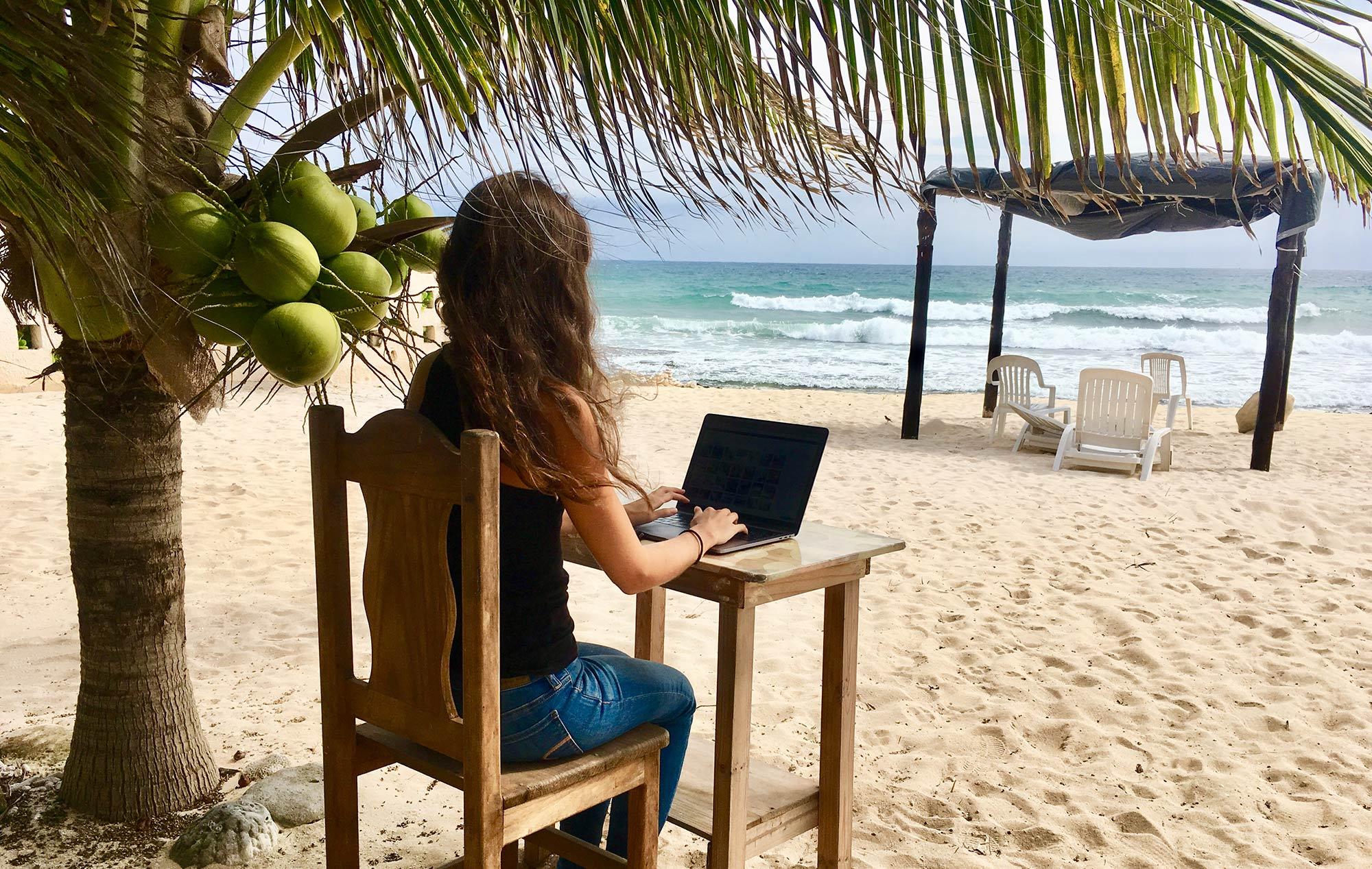 Wie ich als digitale Nomadin Arbeit & Reisen verbinde