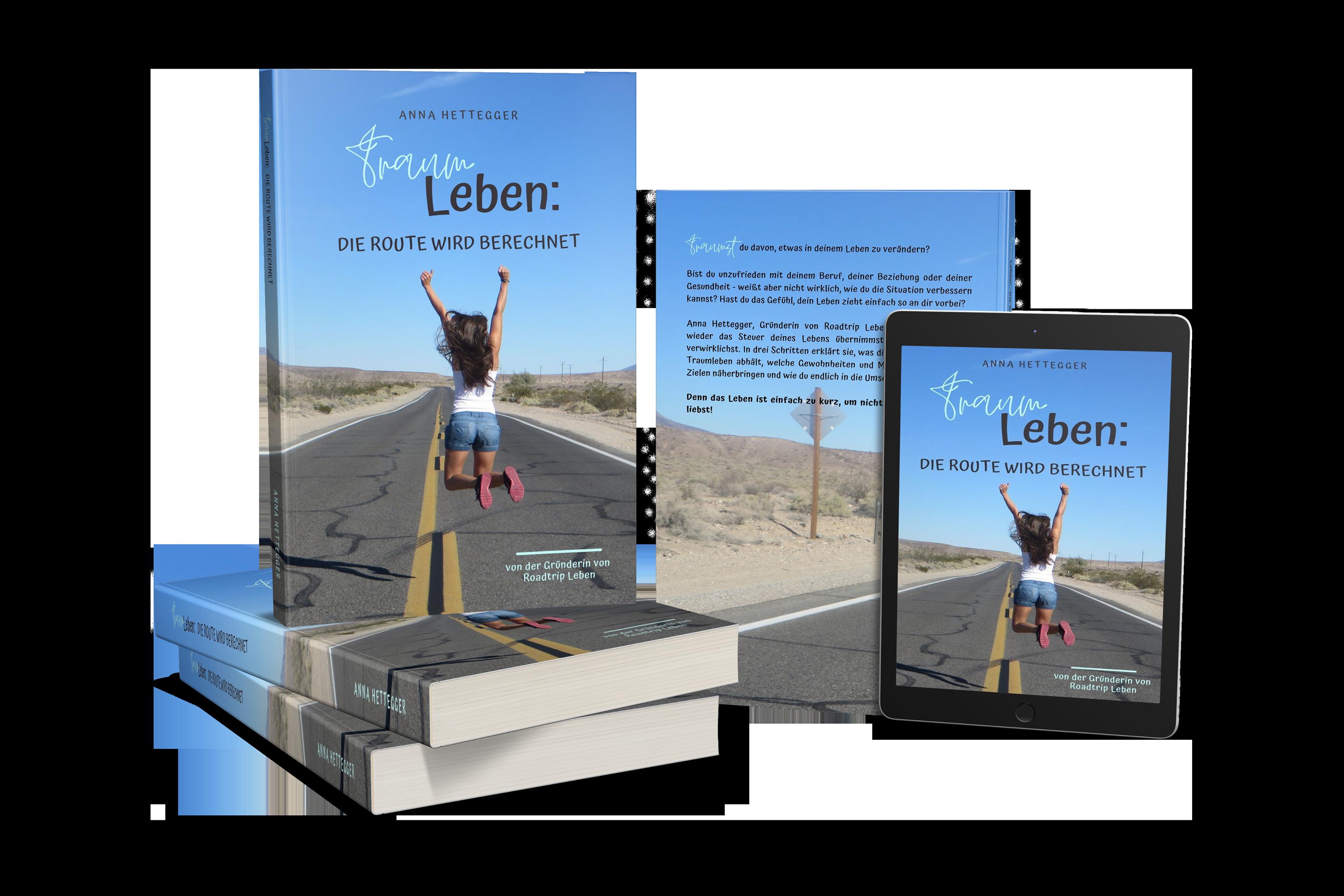 Mein Buch Traumleben - die Route wird berechnet