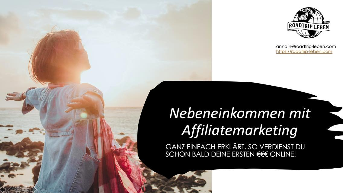 Nebeneinkommen Affiliatemarketing